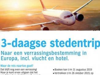 Albert Heijn 3-daagse verrassingstrip Europa