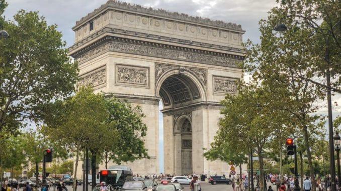 Parijs Arc de Triomphe
