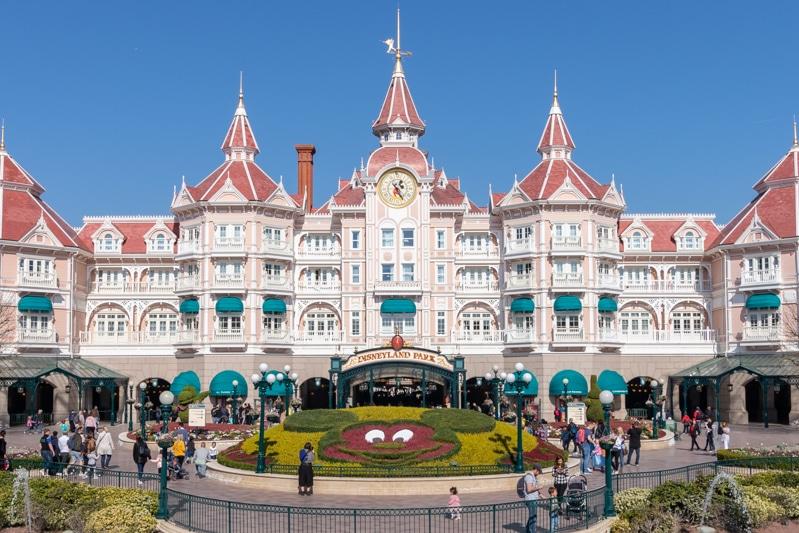 Disneyland Parijs - Disneyhotel - Ingang Disneypark