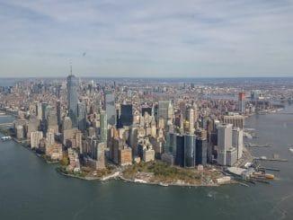 New York Manhattan Luchtfoto