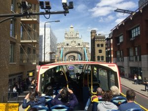 Hop-on hop-off bus Londen