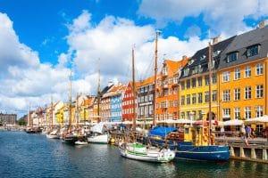 Kopenhagen Nyhavn Pier Denemarken