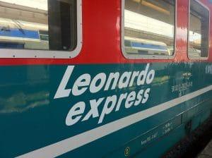 Leonardo express Fiumicino Rome