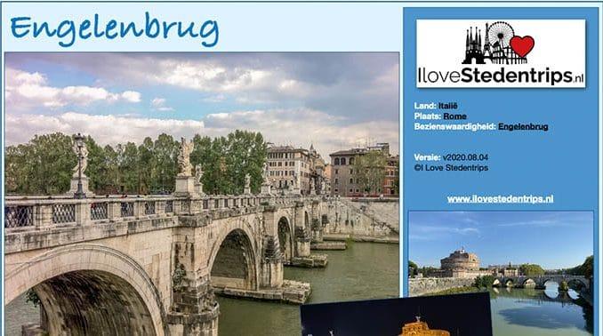 Reisinformatie Rome - Engelenbrug