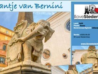 Reisinformatie Rome - Olifantje van Bernini