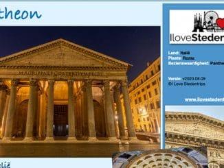 Reisinformatie Rome - Pantheon